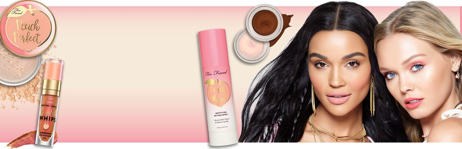 60% Off Too Faced Peaches and Cream + Ships Free