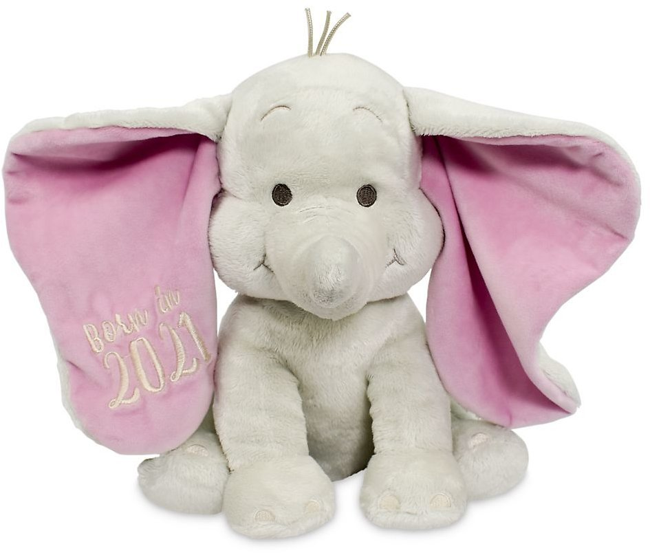Dumbo ''Born in 2021'' Plush for Baby, Small - ShopDisney