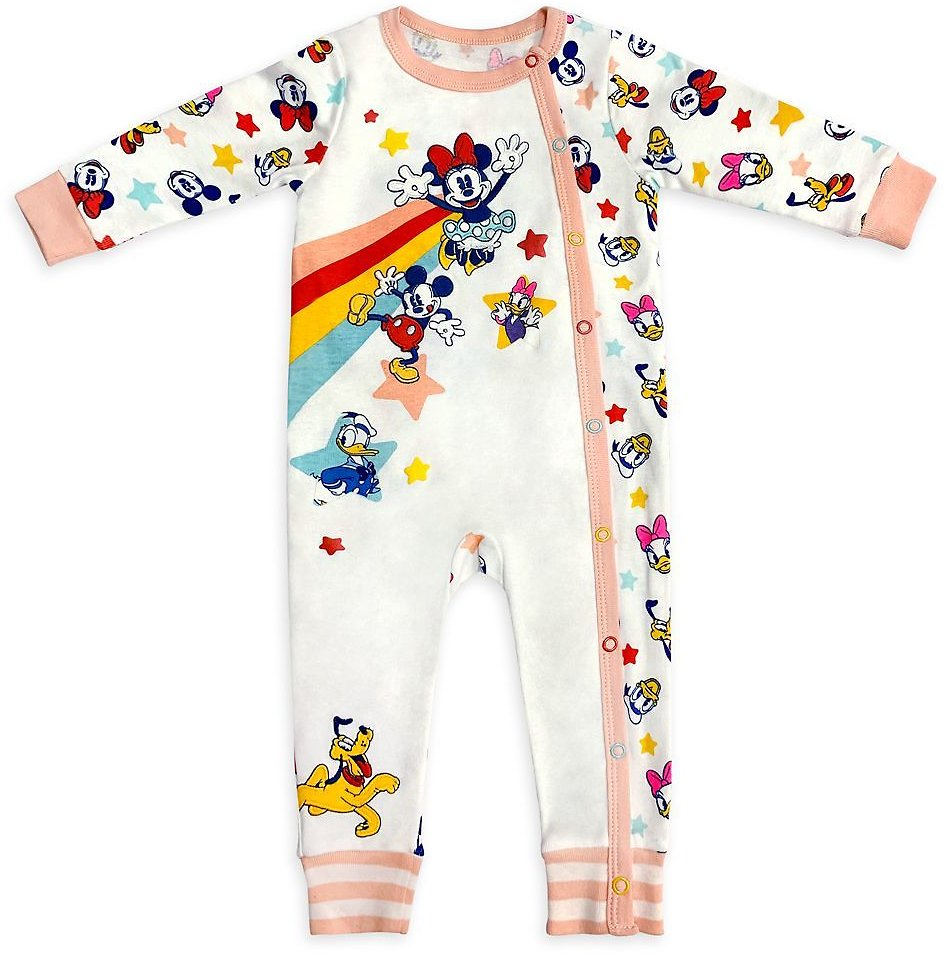 Mickey Mouse and Friends Stretchie Sleeper for Baby   ShopDisney