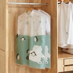 Cartoon Hanging Clothing Dust Cover Bag
