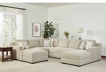 4-piece Fabric Sectional