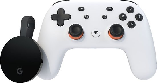 Google Stadia Premiere Edition Clearly White H2B