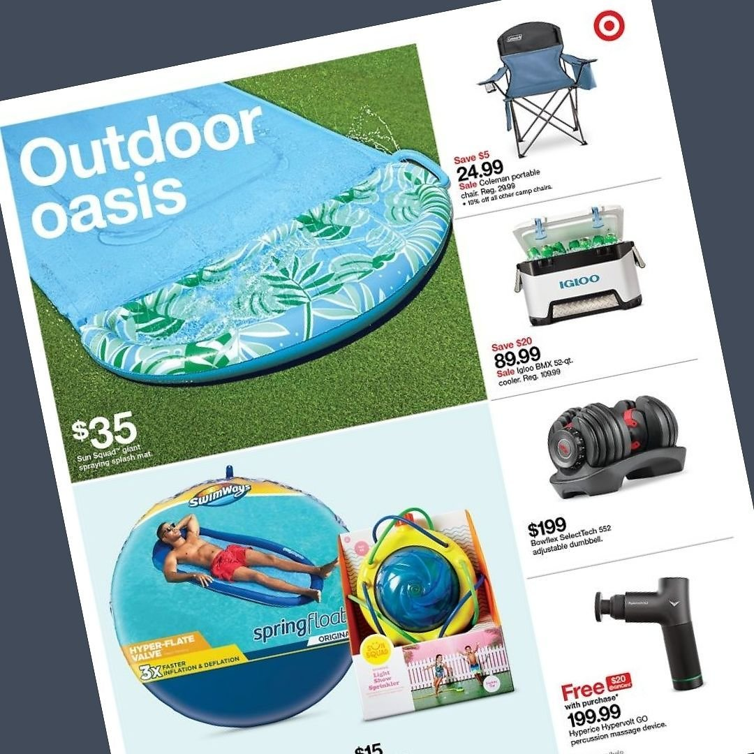 (6/13) 'Outdoor Oasis' Savings Event
