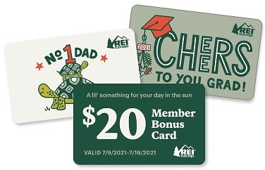$120 REI Gift Card for $100.00