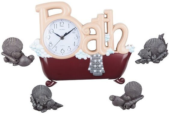 Witter The Bath Wall Clock