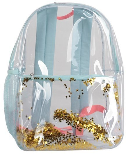 Wonder Nation Clear Backpack with Glitter