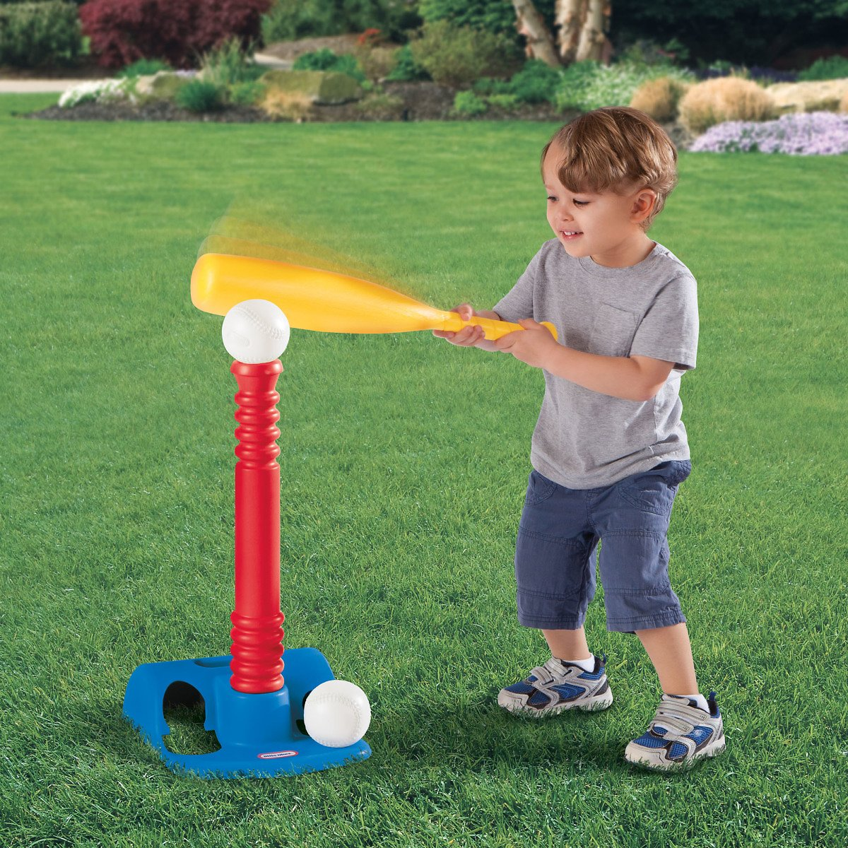 Little Tikes Toy Sports T-Ball Set - Red