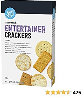 Amazon Brand - Happy Belly Entertainment Crackers, 8.8 Ounce