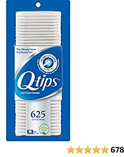 Q-tips Cotton Swabs For Hygiene and Beauty Care Original Cotton Swab Made With 100% Cotton 625 Count