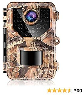 【2021 Upgrade】 1080P Up to 2.7K, 20MP Trail Camera Game Cameras Hunting Camera, IP66 Waterproof with 940nm No Glow Night Vision, 2.4