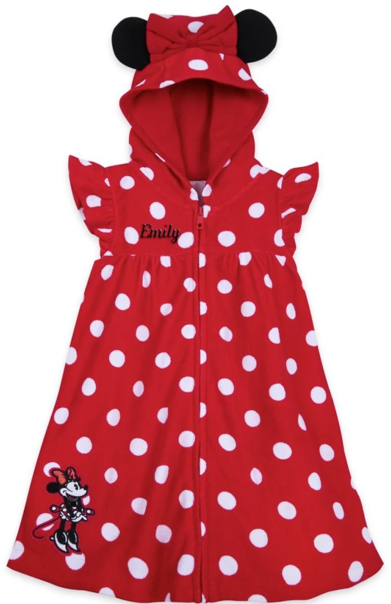 Minnie Mouse Red Cover-Up for Girls – Personalized