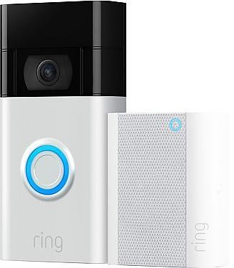 Ring Security Video Doorbell 3 W/Chime
