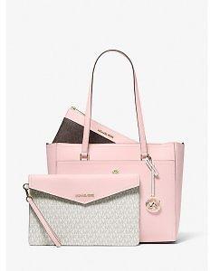 Maisie Large Pebbled Leather 3-in-1 Tote Bag