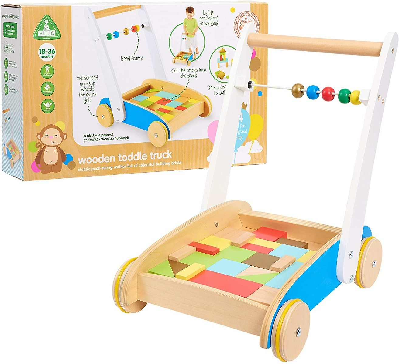 Early Learning Centre Wooden Toddle Truck
