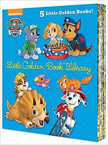PAW Patrol Little Golden Book Library