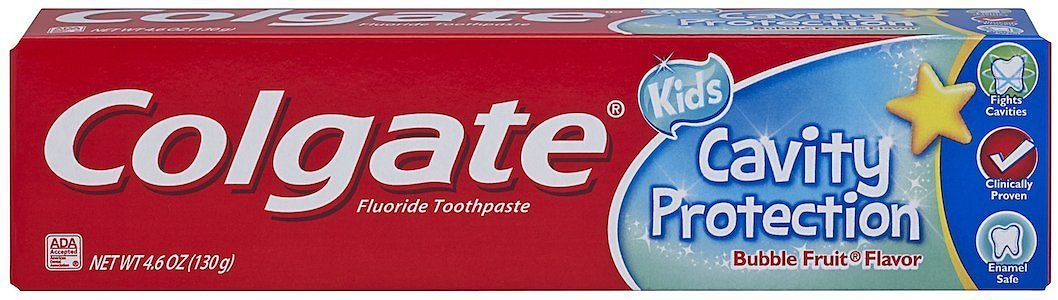 Colgate Kids Cavity Protection Toothpaste, Bubble Flavor. Oral Care