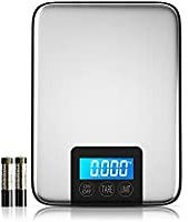 Nicewell 33lbs 15kgs Max Digital Kitchen Scale for $9.00