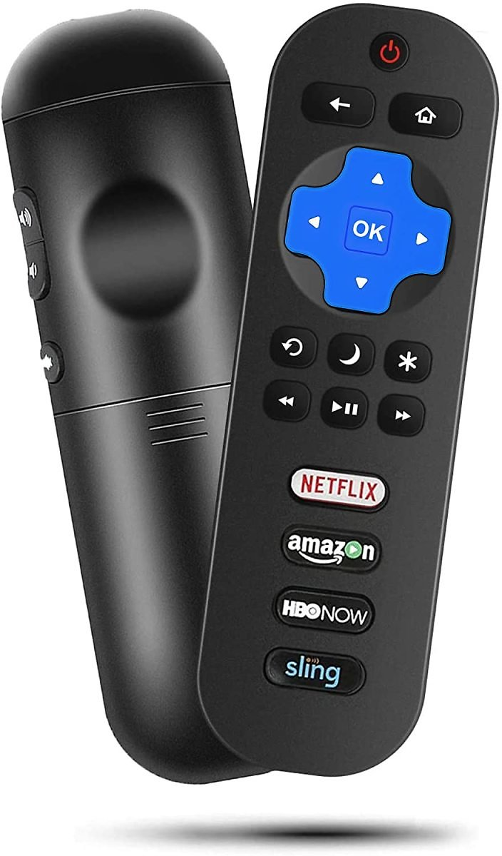 Motiexic Universal Remote for All Roku TVs for $4.05