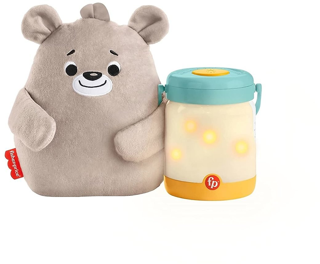 Fisher-Price Baby Bear Firefly Soother Lightup Nursery Sound Machine for $16.64