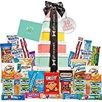 30-Count Tower Snack Box Variety Pack Care Package for $10.95