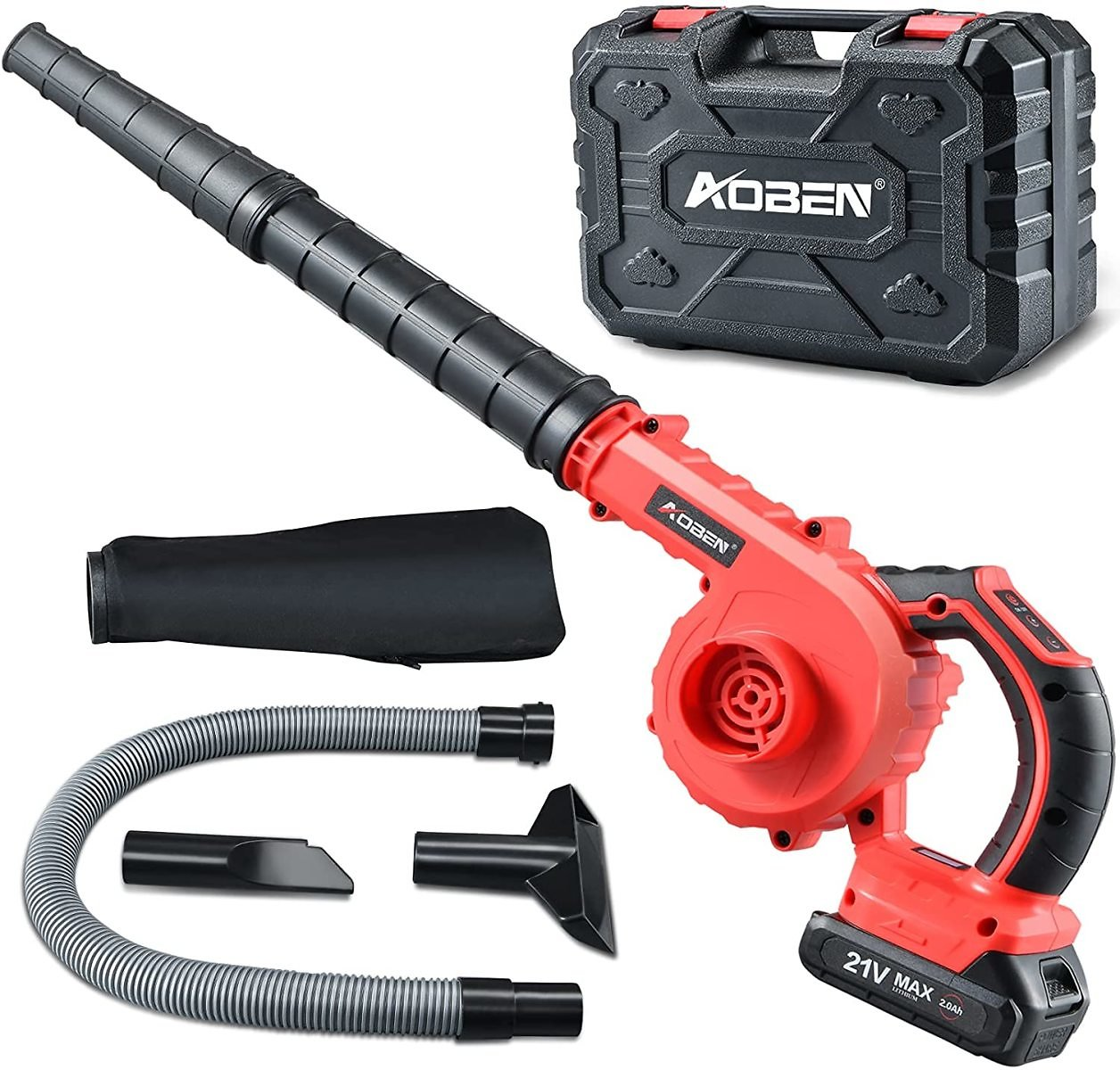 AOBEN 150 MPH Cordless Leaf Blower with Battery & Charger for $39.99