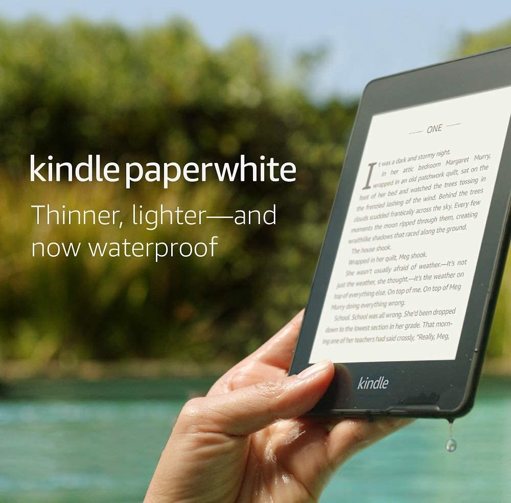 Kindle Paperwhite – Now Waterproof with 2x The Storage.. $84.99