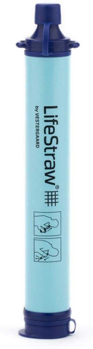 LifeStraw Personal Water Filter for Hiking, Camping, Travel $17.47