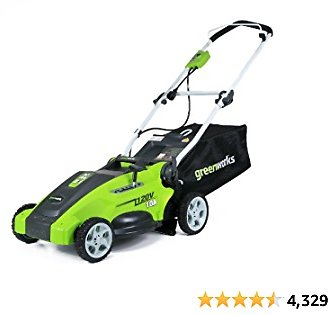 Greenworks 10 Amp 16-inch Corded Mower, 25142