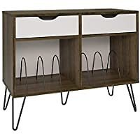 Novogratz Concord Turntable Stand with Drawers for $125.38