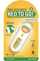 Neosporin + Pain Relief Neo to Go! Antiseptic/Pain Relieving Spray for $4.72