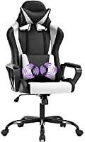 BestOffice Racing Gaming Chair with Lumbar Support Arms for $79.99