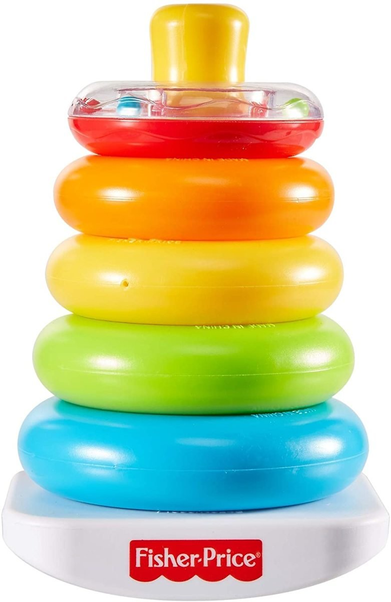 Fisher-Price Rock-a-Stack Classic Toy with 5 Colorful Rings for $4.99