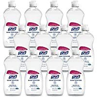 12-Pack Purell Clean Scent Hand Sanitizer Refreshing Gel 12.6 Fl Oz for $18.00