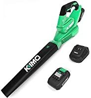 Kimo 20V Cordless Blower with Battery and Charger for $40.39