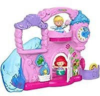 Fisher-Price Little People Disney Princess Play Go Castle Portable Playset for $17.99