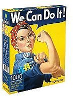 Aquarius Smithsonian Rosie The Riveter 1000 Piece Jigsaw Puzzle » Only $4.79