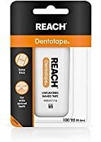 Reach Dentotape Waxed Dental Floss with Wide Cleaning Surface for $2.33