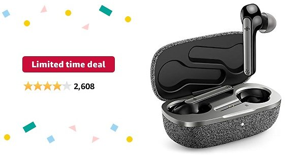 Limited-time Deal: Wireless Earbuds | Boltune Bluetooth 5.0 Headphones | In-Ear Detection | AptX Deep Bass | CVC 8.0 Noise Cancellation | IPX8 Waterproof | Touch Control | with 2 Mics | USB-C Quick Charge 42h Playtime