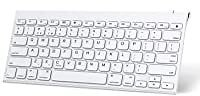 OMOTON Ultra Slim Rechargeable Wireless Bluetooth Keyboard for IPad for $14.99