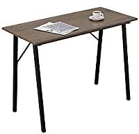 Coavas Portable Computer Study Desk with Metal Frame for Small Spaces for $49.99