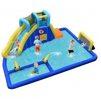 Inflatable Water Slide Jumping House Without Blower