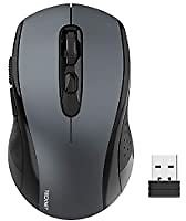 TeckNet 2.4G Optical Wireless Mouse with USB Nano Receiver for $3.96