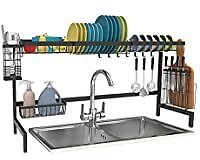 Shop Again Over The Sink Dish Drying Rack for $42.74