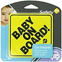 Safety 1st Baby On Board Sign Magnet for $1.99