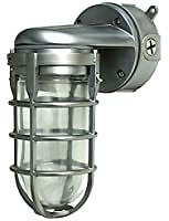 Woods Traditional 150W Incandescent Weather Wall Mount Industrial Light for $28.26