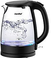 Comfee 1500W 1.7 Liter Cordless Electric Kettle for $19.99