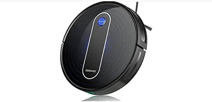 Robot Vacuum, Deenkee Robot Vacuum Cleaner Upgraded 2000PA Suction 120Mins Runtime Auto Robotic Vacuum, 6 Cleaning Mode for Pet