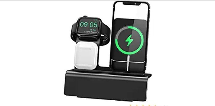 3 in 1 Wireless Charger Stand🔋 from Amazon.