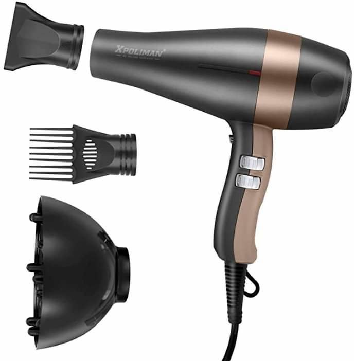 Hair Dryer 1875W, Negative Ionic Fast Dry Low Noise Blow Dryer,Professional Onic Salon Hair Dryer from Amazon.
