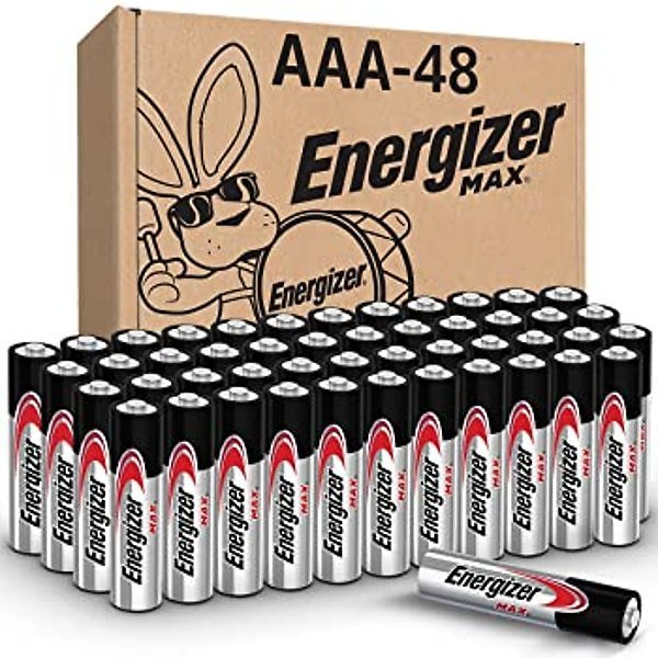 Energizer AAA Batteries (48 Count), Triple A Max Alkaline Battery for $20.38